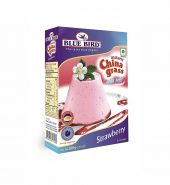Blue Bird Instant China Grass, Strawberry, 100g