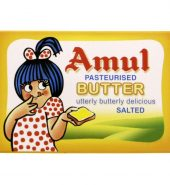 Amul Butter – Pasteurised, 100g Pack