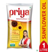 Priya Sunflower Refined Oil 1L