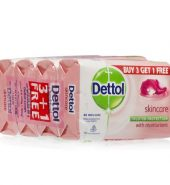 Dettol Skincare Soap (Buy 3 Get 1 Free) 4 x 125 g