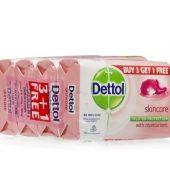 Dettol Skincare Soap (Buy 3 Get 1 Free) 4 x 125 g