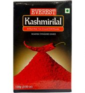Everest Powder, Kashmirilal Brilliant Red Chili Powder, 100g