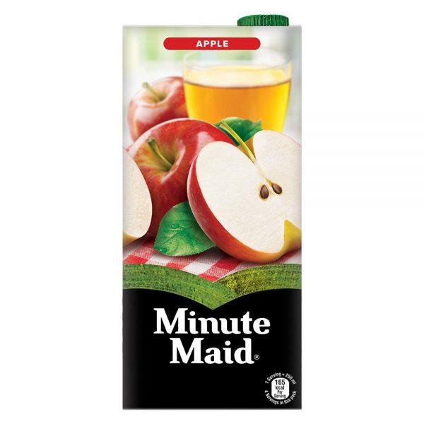 Minute Maid Fruit Juice - Apple, 1L Tetra Pack