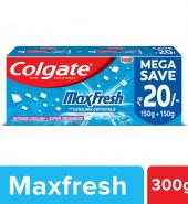 Colgate Max Fresh Blue Gel Toothpaste for super freshness – 300gm