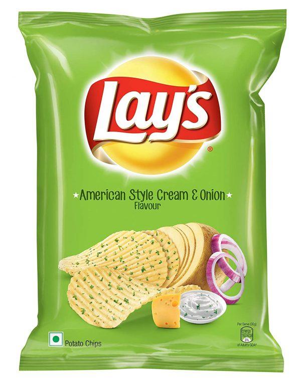 Lays Cream & Onion