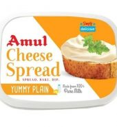 Cheese Spread Yummy Plain 200g – Amul