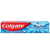 Colgate Toothpaste Maxfresh Peppermint Ice – 80 g (Blue Gel)