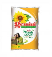 Gemini Refined Sunflower Oil Pouch, 1L
