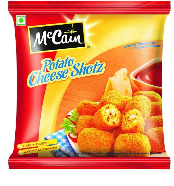 McCain Potato Cheese Shotz, 400g