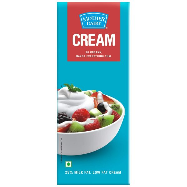 Mother Dairy Cream, 200ml