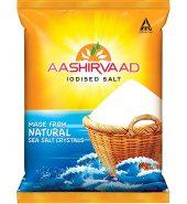 Aashirvaad Salt – Iodised, 1kg Bag
