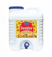 Sunday refined sunflower oil 15 litre Jar with Tap