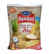 Liberty Sunday Whole Wheat Flour (5kg) Atta