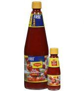 Maggi Tomato Ketchup 1 kg+Free Maggi Hot & Sweet 200g