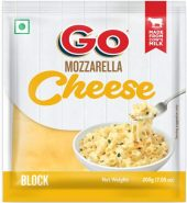 Go Mozzarella Block Cheese, 200g