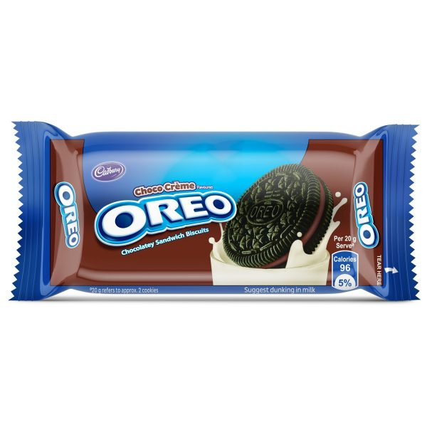 Cadbury Oreo Chocolate Creme Biscuit, 50g