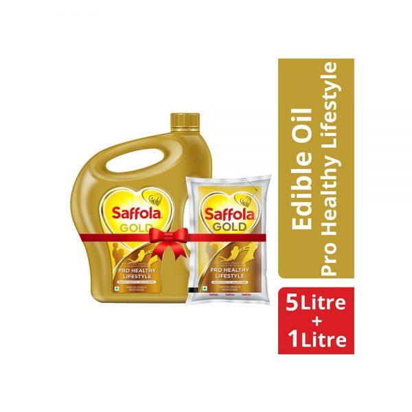 Saffola Gold [free 1L pouch] 5L