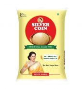 Silver coin Traditional chakki Atta – 5kg