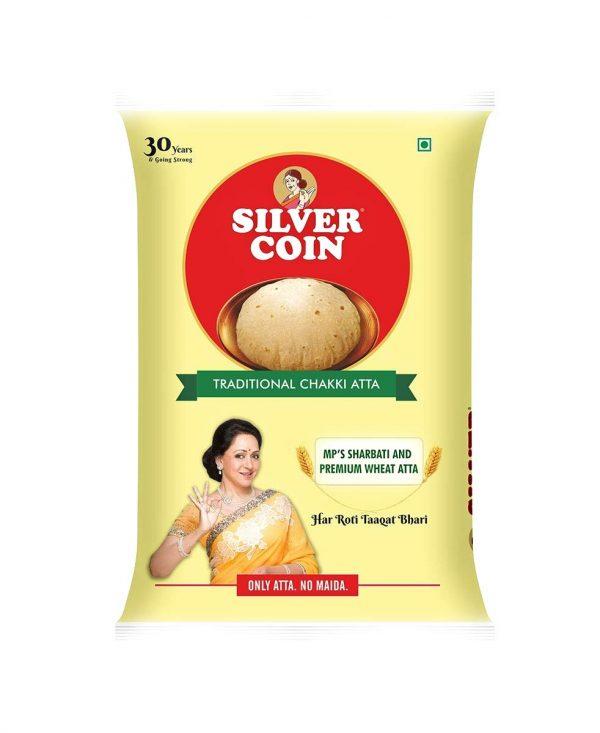 Silver coin atta