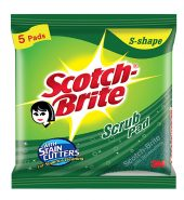 Scotch-Brite Scrub Pad (Regular) – Pack of 5