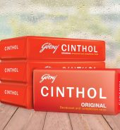 Cinthol Original Bath Soap – 99.9% Germ Protection, 100g (Pack of 4)