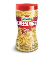 Parle Monaco Cheeslings Classic Biscuit 300g